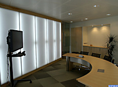 Office video conference room • AIR-board • Satin Opal