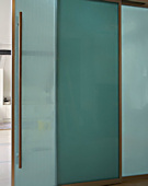 Office sliding door and partition • AIR-board • Light Green